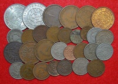 PORTUGAL / COLONIES 30 COINS LOT      Moçambique / Angola    / Lote Nº 5