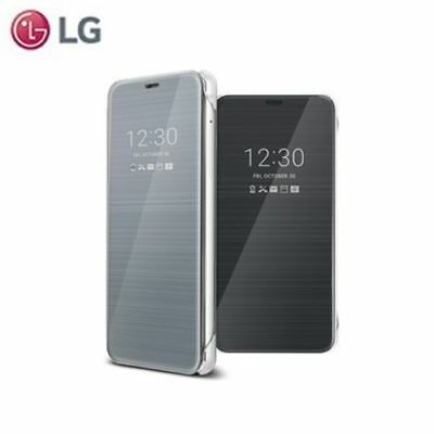 on sale c7c2b 4ddf7 GENUINE OFFICIAL LG G6 Quick Cover Clear View Flip Case Cover - (CFV-300)