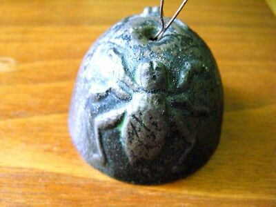 Antique or vintage Cast Iron Insect Cricket Design Bell