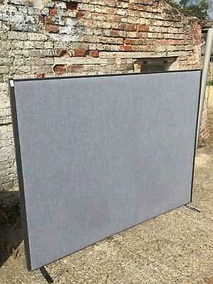 Portable Office Partition Acoustic Studio Panel Divider Screen 1800mm x 1400mm