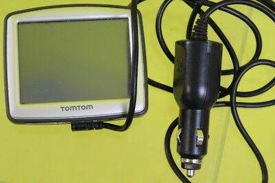 Tom Tom One Satnav With Car Charger ##OUN