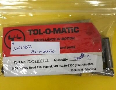 *nos* (Pack Of 9) Tol-O-Matic Replacement Parts 10011052 *free Shipping*