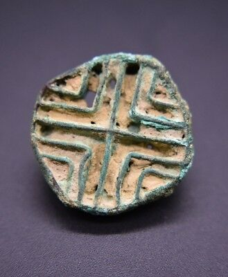 Rare ancient Amlash bronze seal C. 9th - 8th century BC