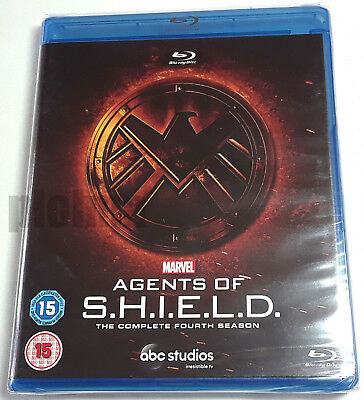 Marvel AGENTS OF SHIELD Complete FOURTH Season BLU-RAY S.H.I.E.L.D. 4th Four 4