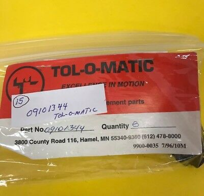 *nos* Tol-O-Matic Replacement Parts 09101344 Bolt (Pack Of 15) *free Shipping*