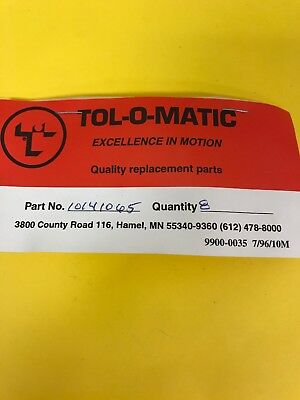 *nos* Tol-O-Matic Replacement Parts 10141065 Screw (Pack Of 8) *free Shipping*