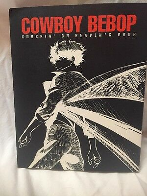 Cowboy Bebop Knockin' On Heaven's Door Illustrated Comic Book