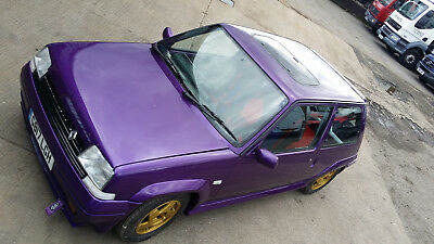 renault 5 gt turbo classic hot hatch fast road track