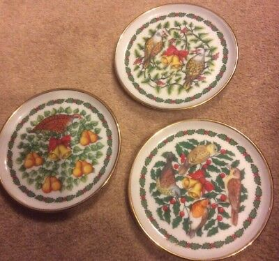 Royale Stratford The Twelve Days of Christmas 3 Coasters