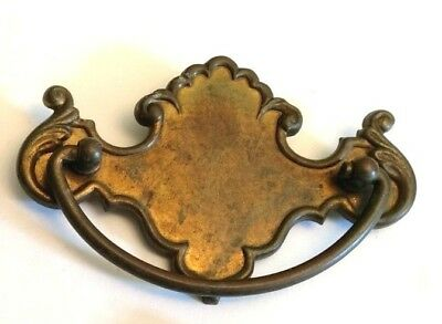 "Antique Bronze Hardware Dresser Cabinet Drawer Pull Drop Bail 2.5"" Center to C"