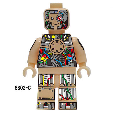 6802C Collectible Building Toys Rare Character Mini Figure Blocks Weapon #More