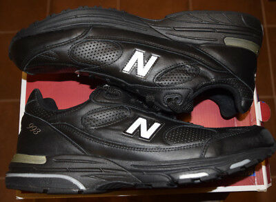 newest 3aeb5 a2a9a MEN'S-NEW  BALANCE-MR993LBK-993-RUNNING-TRAINING-BLACK-SHOES-SNEAKERS-12.5-NEW