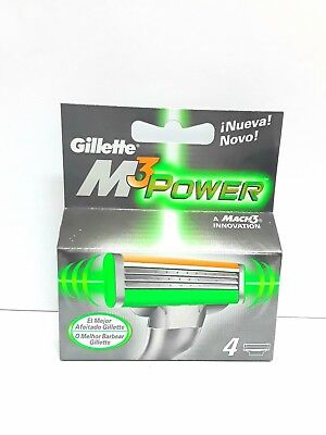 Gillette Mach3 Power 4 Recargas