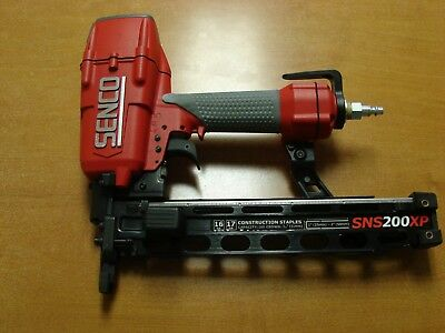 "Senco SNS200XP Air Pneumatic 17/16 Gauge 7/16"" Crown 2"" Wire Stapler Staple"