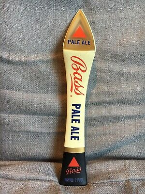 """Bass Pale Ale EST 1777 Triangle 11.5"""" Beer Tap Handle Bar Keg Pub Free Shipping"""