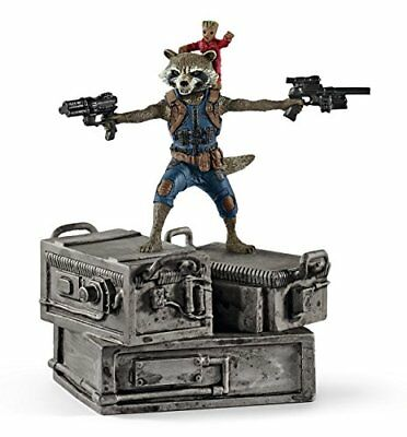Schleich 21514 Marvel Guardians of the Galaxy Rocket and Groot Gotg 2 Movie