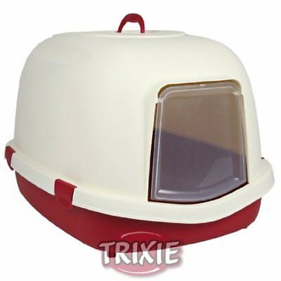 Trixie Primo Cat Litter Tray with HoodFlapHandle, X-Large, 71 x 56 x 47 cm, Bo