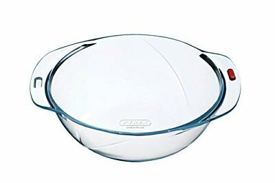 Pyrex Reflections - Round Glass Mixing Bowl or Casserole Base - 24 cm 3 Litres