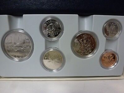 1981 Canada Specimen 6-Coin Set  Royal Canadian Mint Issue