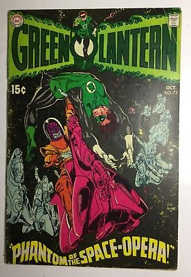 GREEN LANTERN #72 VG 1962 DC COMICS complete Comic CHECK PICTURES