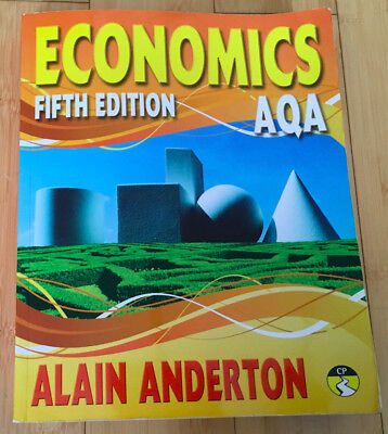 AQA A Level Economics Student Book by Anderton