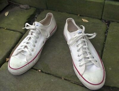 Original Vintage 1970s Converse Chuck Taylor Shoes - Size 10 - Made in USA