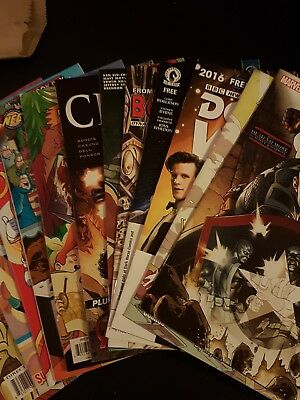 2016 Free Comic Book day Collection