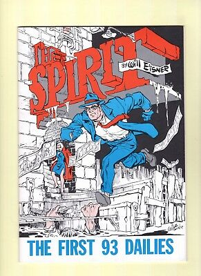 Spirit Dailies  vol. 1 and 2  -- 1980 -- Will Eisner - Lou Fine! --  NM-  cond.
