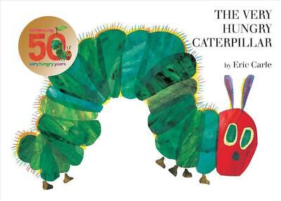 The Very Hungry Caterpillar by Eric Carle (English) Board Books Book Free Shippi