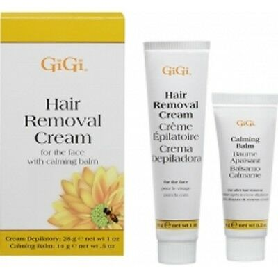 1 X GiGi Hair Removal Cream For Face With Calming Balm US SELLER