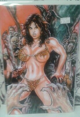 Cavewoman The Zombie Situation 2 Devon Massey Special Edition Cover B**