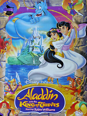 ALADDIN The King of Thieves poster - VERY RARE !!!