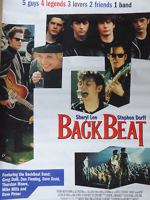 BACK BEAT (The BEATLES STORY) movie poster
