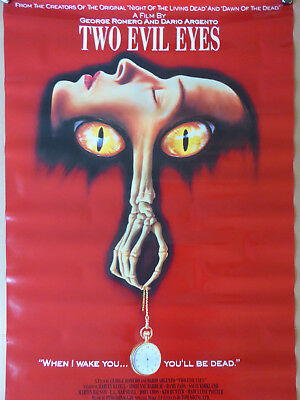 TWO EVIL EYES movie poster