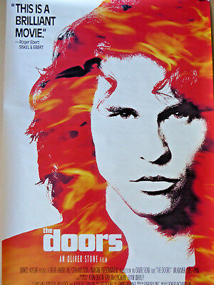 The DOORS - The MOVIE poster - a 1992 ORIGINAL !