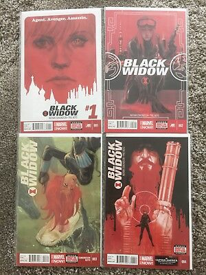 Black Widow 1-20 Nathan Edmonson Phil Noto Marvel Now!