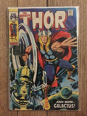 The Mighty Thor 160 1968 Galactus