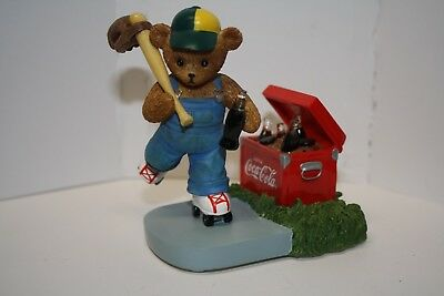 "Coca-Cola Figurine - Memories To Cherish Collection - ""go With Coke"" No Box"