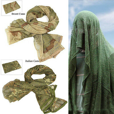 SCRIM NET SNIPER Veil Tactical Army Mesh Camouflage Face