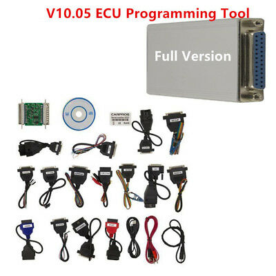 V10.05 Carprog Full Version w/All 21 Item Adapter Car ECU PROG Programmer Grade