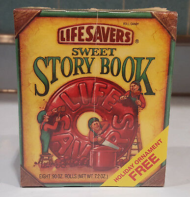 Lifesavers 1991 Sweet Story Book With Ornament