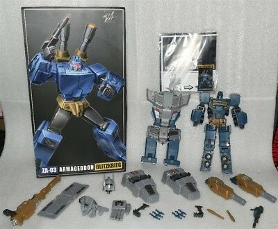 New Transformers Zeta toys ZA-03 Blitzkrieg Onslaught in Stock