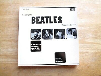 The Complete Beatles Recording Sessions by Mark Lewisohn (Softcover)