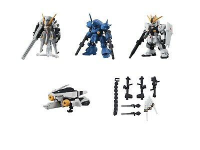 Bandai Gundam Mobile Suit Ensemble 04 Figure Woundwort Kampfer Whole Set @18101