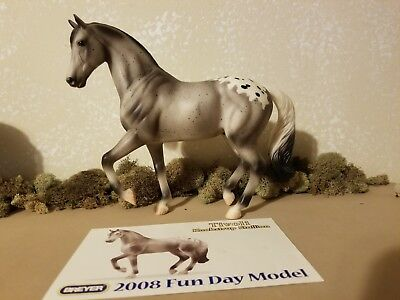 "Classic 2008 Breyer ""Fun Day Collectible"" Tivoli Knabstrup Stallion #703111"