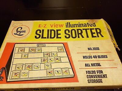 Logan Slide Sorter in Original Box No.1055 ~ Free Shipping