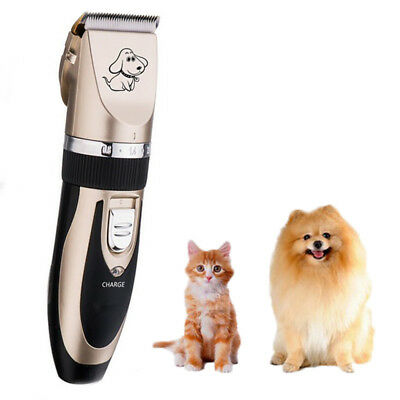 Fur Clipper Cutter Trimmer Shaver Grooming Rechargeable Pets Cat Dog Electrical