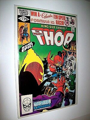 THOR (Vol.1) ANNUAL # 9 Near Mint Condition (Original Owner) from 1981