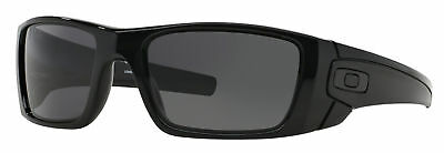 New Oakley Fuel Cell Sunglasses Oo9096-01 Polished Black / Warm Grey Lens