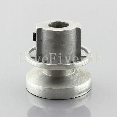 A Type Pulley 1 V Groove Bore 12mm OD 40mm Aluminium Alloy for A Belt Motor